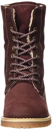 Tamaris Damen 26443 Combat Boots Rot (bordeaux)