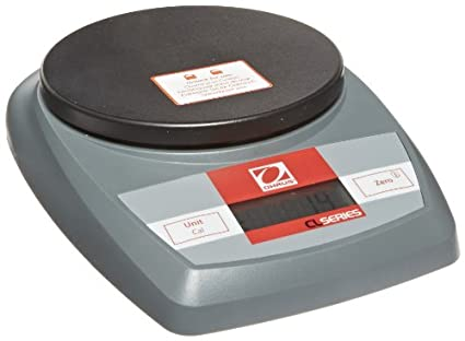 Ohaus CL5000 CL Series Portable Compact Scales, 5000g Capacity, 1g Readability