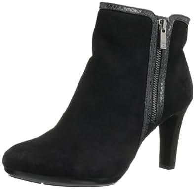 AK Anne Klein Women's Caelina Boot,Black/Black,9.5 M US