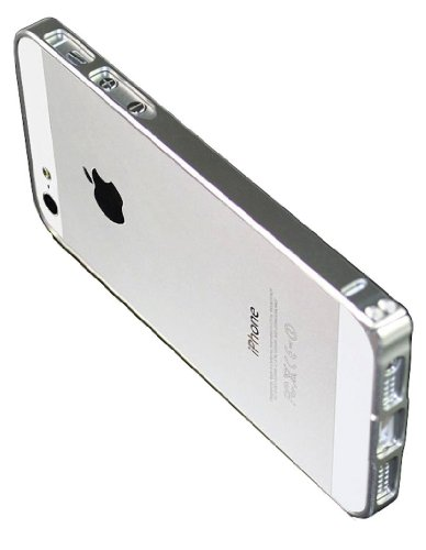 Luxury Ultra Thin Slim Aluminum Metal Bumper Frame - Metal Iphone 5 Bumper Case