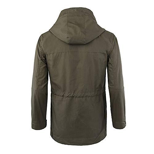 Uniforme Manteau Vêtements Tactiques Extérieure Vestes Vert Avec De Veste Chaud À Hommes Kinlene En Capuchon Sportif Sport Capuche Pour Velours Cxvaw0Zn