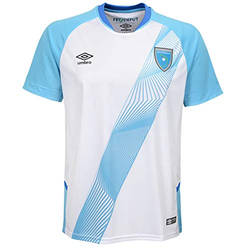 Umbro Men's Guatemala Home Jersey- White (M) (Umbro Shirt)