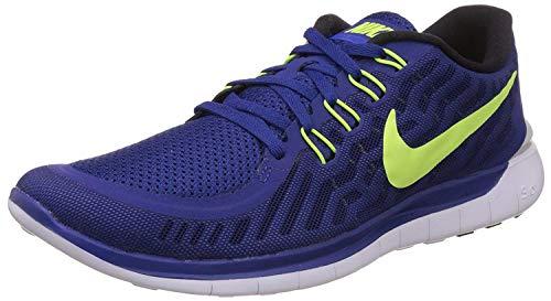 Nike Men's Free 5.0 Running Shoe Tumbled Grey/Reflect Silver/Crimson