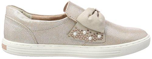 Marco Tozzi Damen 24710 Slip On Sneaker Pink (Rose Met. Comb)