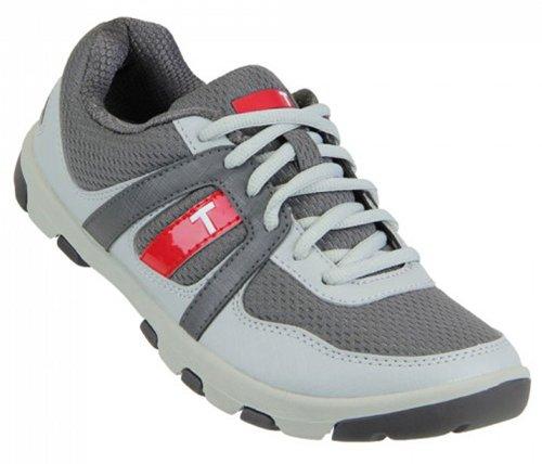TRUE linkswear Kid's True Padwan Golf Sneakers,Gray,3.5 M Bi