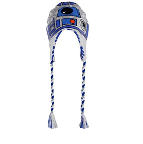 Adult C3p0 Costumes (R2-D2 ~ Adult Size ~ Peruvian Winter Hat - Fleece Lined)