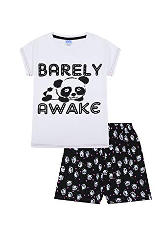 Girls LOL Happy Face Laugh Out Loud Emoji Style Short Pyjamas 9 to 15 Years