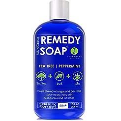 Remedy Antifungal Soap, Helps Wash Away ...