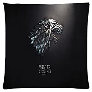 Game of Thrones ~ Durable Unique Throw Square Pillow Case 18X18 inches Fashionable Diy Custom Personalized Pillowcase Design by Engood