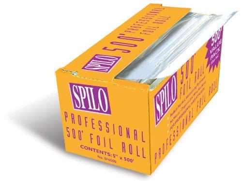 Mehaz Spilo Foil Roll 5 X 500Ft Silver