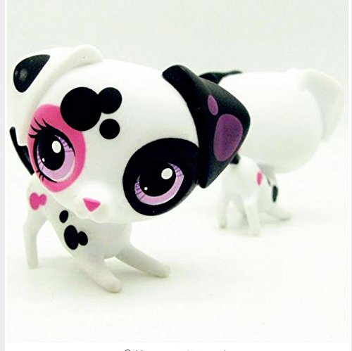 Express$cute toys Lovely Pet shop animal spotted Dalmatian Dog action figure dolll(made in China)
