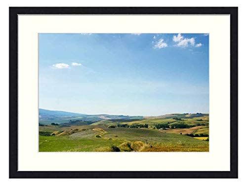 OiArt Art Print Wall Picture (20x14 inch) - Way Track Sand Road Nature Landscape Path (Best Way To Sell Farmland)