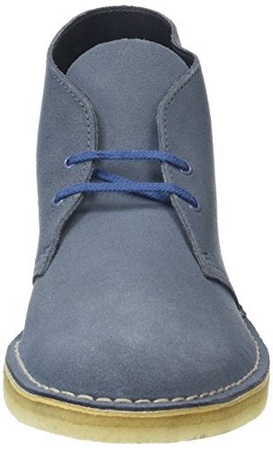 Desert denim Clarks Homme Originals Boot Bottes Blau TO71w