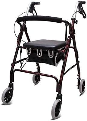 Accesorios para andadores con ruedas Walker Plegable ...