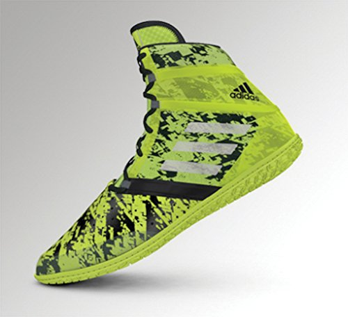 Adidas Impact Wrestling zapato Solar Yellow/Silver/Black