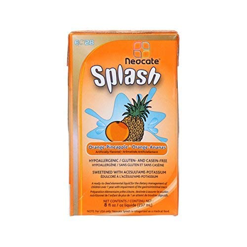 E028 Splash-Flavor Orange-Pineapple Calories 237 / 237 ml Packaging 237 ml (8 fl oz) Drink Box - Each 1