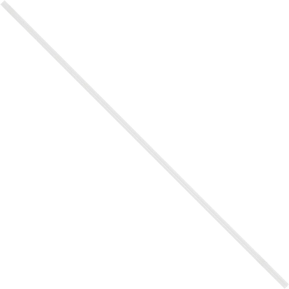 Tape Logic TLPBT7W Paper Twist Ties, 7'' x 5/32'', White (Pack of 2000)