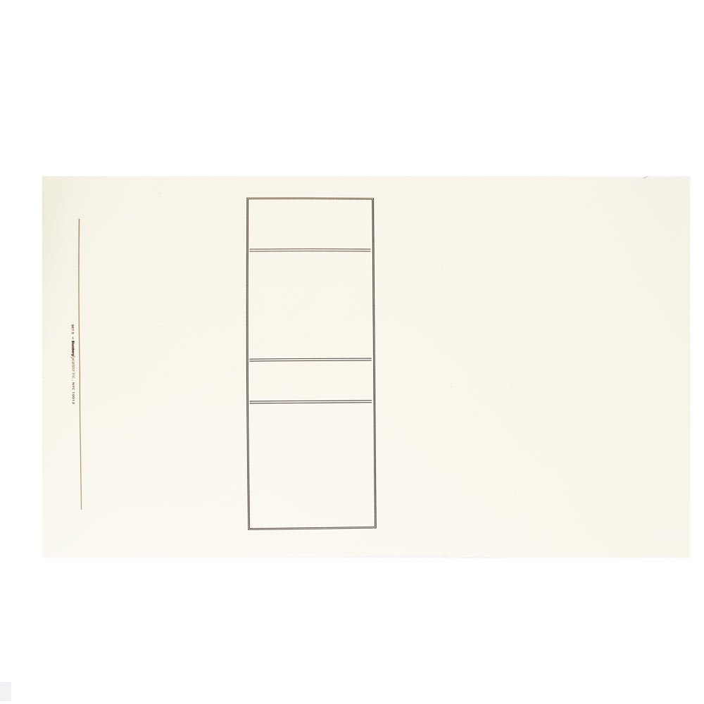 BlumbergのトップBound法的とレポートカバーfor legalとビジネスドキュメント 9 x 15-1/2, 100 per box 9 x 15-1/2, 100 per box Off White, Antique Manuscript, Printed Panel, Plain B076672T58
