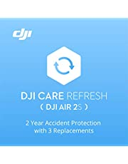 DJI Air 2S - Care Refresh (2 years), DJI Air 2S Warranty, Up to three replacements in 24 months, Fast support, Accident and water damage cover, Activated within 48 hours