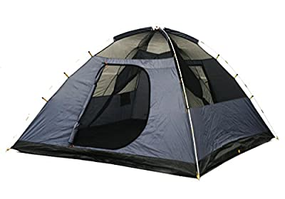 NTK Cherokee GT 5 to 6 Person 10 by 10 Foot Sport Camping Dome Tent 100% Waterproof 2500mm