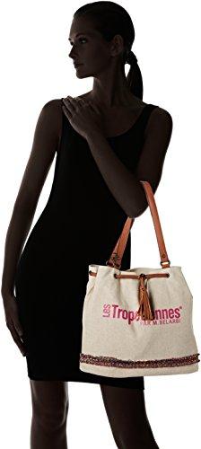 Belarbi tz M Tropéziennes Cabas par Des02 Les Rose Pink XTxtqFwTan