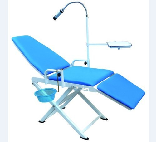 Portable Dental Chair Cold Light Cuspidor Tray Dentistry Equipment Mobile Unit GU-P109(A)