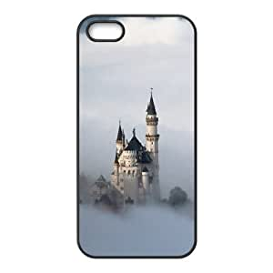 Custom Fairytale Castle Design TPU Case Protector For Iphone 5 5S