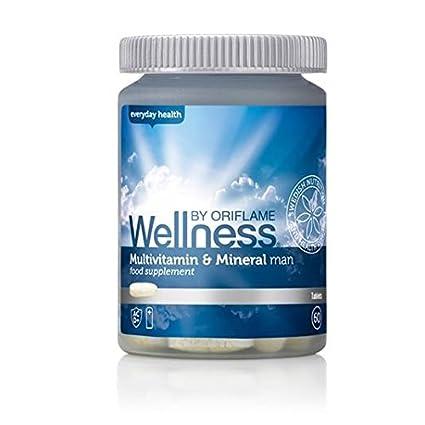 GRAN VENTA GRAN VENTA Oriflame Wellness Multivitaminas y Minerales para Hombre VENTA FROM 22.90 EUR