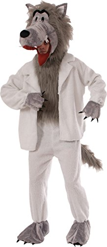 UHC Unisex Wolf In Sheep's Clothing Funny Theme Party Adult Halloween Costume, STD (40-42) ()