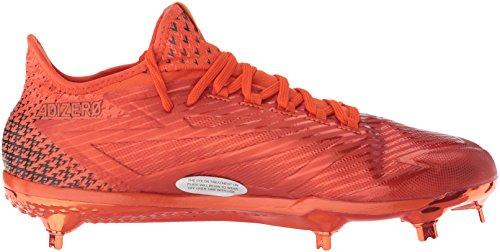 Adidas Originali Mens Adizero Postbruciatore 4 Scarpa Da Baseball Collegiale Arancione, Arancio Collegiata, Ftwr Bianco