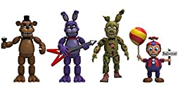 Funko Five Nights at Freddy\'s 4 Figure Pack (Set 2), 2-Inch