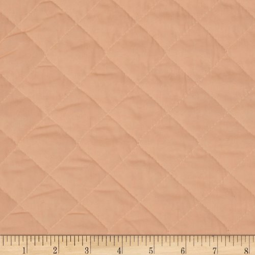 Fabri-Quilt Double Sided Quilted Broadcloth Fabric by The Yard, Peach