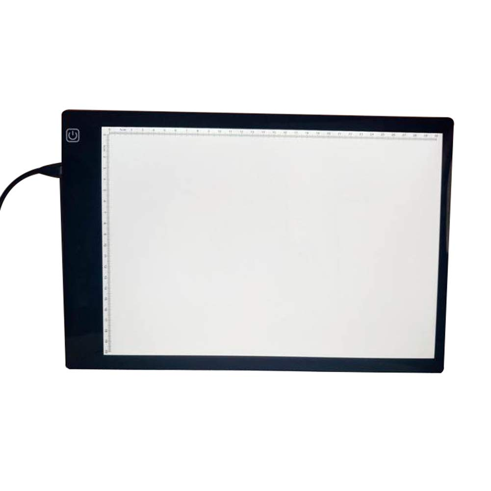 A4 LED Light Box Ultra-Thin Portable LED Light Box Tracer StarALL USB Rechargeable Artcraft Tracing Light Table for Drawing Sketching Animation Designing by StarALL