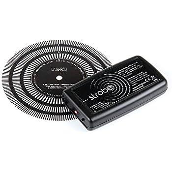 Amazon.com: Turntable Disco Strobe estroboscopio Mat ...