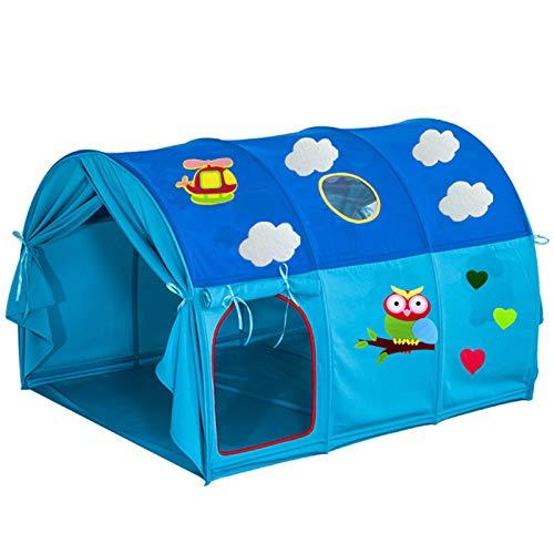 CBWZDJZDS Kinderbett Zelt Spielhaus Bett, Cartoon Zelt Kinderbett Zelt Eule