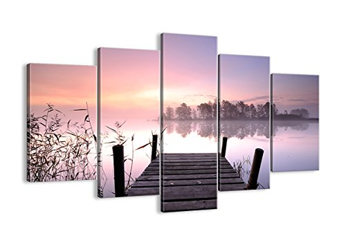 Pier / Dock nautical multipanel wall art - home wall art decor