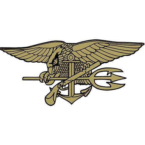 Navy Seals Trident Clear Decal
