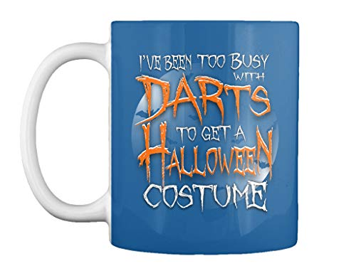 Ive been too busy with darts to get a halloween costume Mug - Teespring Mug