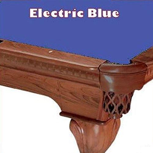 8' Oversize Electric Blue ProLine Classic 303  Billiard Pool Table Cloth (21 Oz Electric Blue Felt)