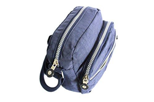 bandolera bandolera de la moda italiana Roncato 46.59.53 Azul