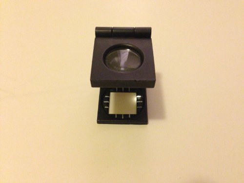 (Magnimax Linen Test Folding Magnifier(7X) with Metal Frame)