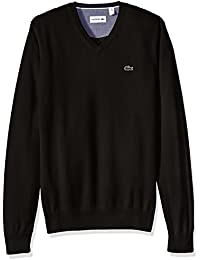 Men's Seg 1 Cotton Jersey V-Neck Sweater