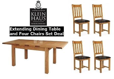 Offerte Tavoli Da Pranzo.Oak Furniture Tavolo Da Pranzo In Quercia Set Affare Sala Da