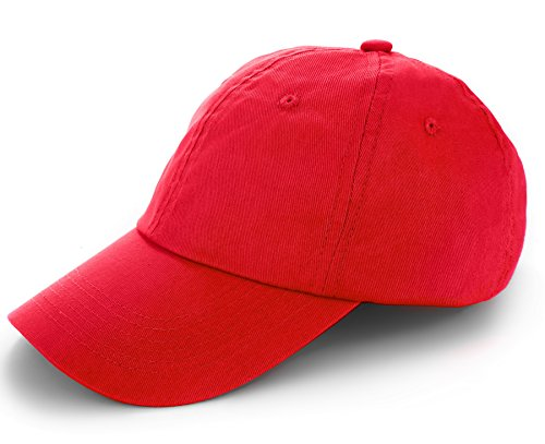 TARTINY Unisex Classic Plain 100% Cotton Baseball Cap, Low Profile Adjustable Curved Visor Hat For Men & - Portland Frame Shop Maine South