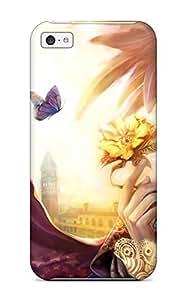 Tpu emma lynn matusiak Shockproof Scratcheproof Fantasy Hard Case Cover For Iphone 5c