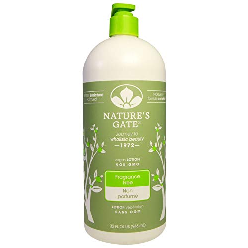 Nature's Gate Moisturizing Lotion Fragrance Free, 32 Fluid Ounce