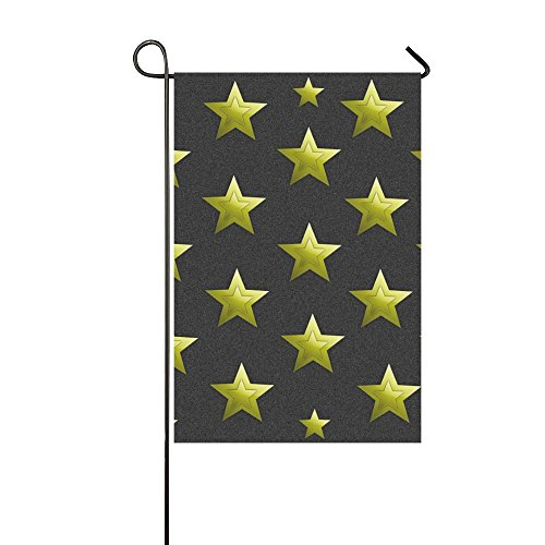 home decorative double sided stars
