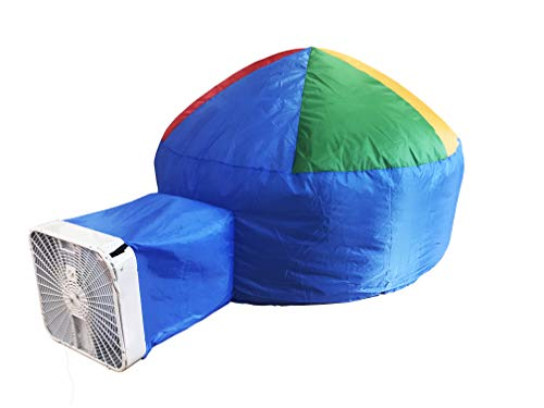 Hippo Creation 30 Seconds Inflatable Indoor Float Tent | Playhouse for Kids (Blue)