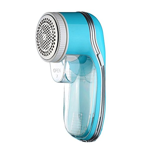Price comparison product image Rechargeable Sweater Fabric Shaver Lint Remover, Remove Pillings, Fuzz, Fluff, Bobbles on Clothes, Sweaters, Cashmere, Wool, Couch, Sofa, Furniture. With Replacement Blade and Brush