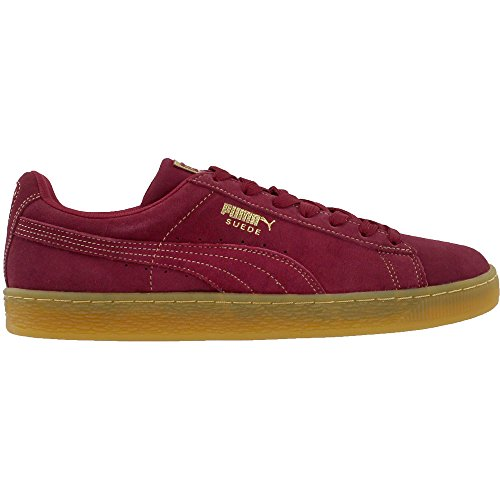 Puma Rouge Suede for Basses Men Mixte Sneakers Classic Adulte Noir rrTv4xC